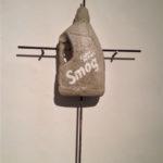 """Andrea Hazel - """"Smog"""" - concrete cm. 73,5x48x9,5 - 2012"""
