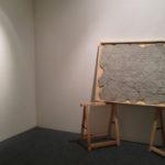 """Andrea Hazel - """"TIT-MALL OF AMERICA"""" - Concrete - cm. 110x150 - 2013"""