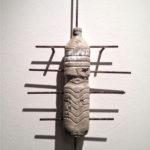 """Andrea Hazel - """"Cancer"""" - concrete - cm. 59x32x10 - 2012"""