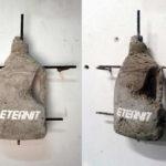 Andrea Francolino, Eternit, 2012 – cemento armato – cm. 39,5x43,5x9,5