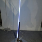 Philip Centenari, Alpha-Voltage-2012-Iron-neon-steel-limatira-of-iron-and-transformer-cm.46x59x155