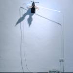 Philip Centenari, Genesis-2009-iron-wood-and-neon-transformer