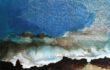 Luca Gastaldo, Funghi e lumache, 2011, tecnica mista su tela, cm 80×120