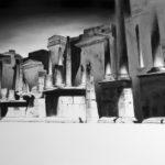 Luke Guenci, 2009_olio and idroclear_100x120
