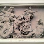 Philip Centenari, Ruins-Pergamon-3-2012-press-photo-of-paper-dAmalfi-and-technical-mixed-cm.-75x1071