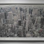 Philip Centenari, Souvenir-New-York-2012-stampa-outs-his-letter-dAmalfi-e-tech-mista-cm.-75x107
