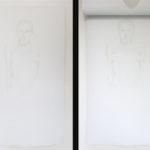 Melissa Provezza, Se, olio su tela, supporto in legno (2strati di tela dipinti)121x71