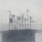 Elisa Saggiomo, un particolare Città Napoli, cm 50x39