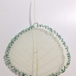 footprint, Untitled, 11x8,5cm, Natural Mulberry leaf, cotton