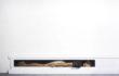 Matteo Tenardi, TRASLOCHI* – olio e tempera su tavola + pietra, 200x50x25, 2014