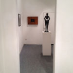 Veduta della mostra CHECK POINT | Benyamin Reich, Fabrizio Pozzoli, Lea Golda Holterman