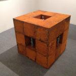 Fabrizio Pozzoli, Quiescents 2015 tinned copper wire oxidized iron cm.75x75x75