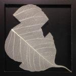 11_L'orMa_Triangolo imperfetto_21x30cm_intervento manuale su foglia di gelso_2015