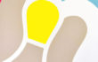 Lumen (acrilico su tela, 80X80, 2014)