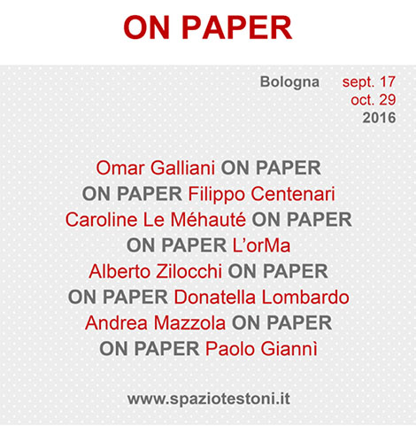 ON PAPER - pagina logo copia