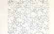 A. Zilocchi – Linee su carta anni 80 – cm. 20×20 -1