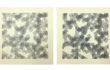 A. Zilocchi – Linee su carta anni 80 -serie di 4 da 20x20cm  cad. – 2