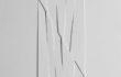 Rilievo, 1969, estroflessioni e acrilico su tavola, cm. 30×30