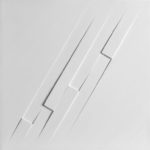 relief, 1969, protrusions and acrylic on board, cm. 33x33 - 2