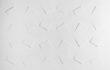 Rilievo, 1976, estroflessioni e acrilico su tavola, cm. 100×100