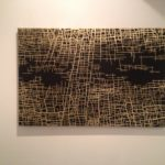 Massimiliano Galliani - The paths of time #10 2016 - acrylic on gold i ...
