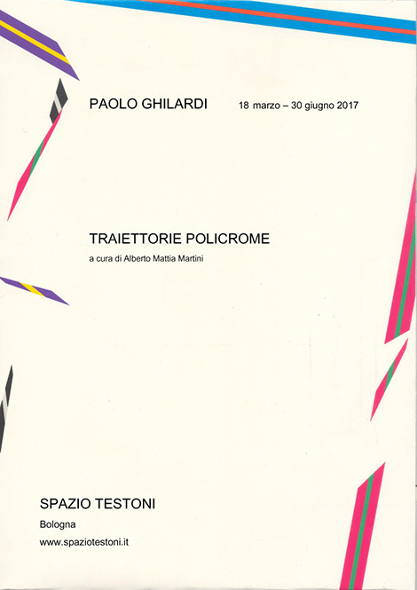 PAUL GHILARDI Trajectories Polychrome edited by A.Mattia Martini copy