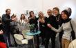 Foto di gruppo Artisti e Team Spazio Testoni in Arte Fiera 2019